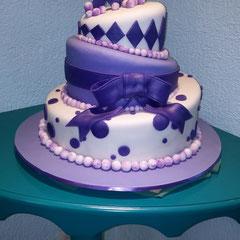 pastel fondant xv años turvy cake pastel chueco
