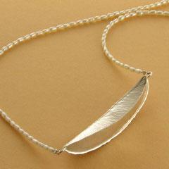 Silber Süßwasserzucht Perle