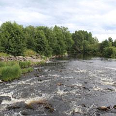 Вид с плотины