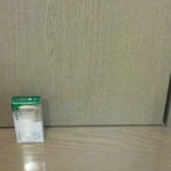 室内ドアの穴「補修後」