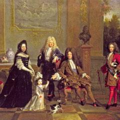 Nicolas de Largillière (attibué à), Louis XIV et sa famille, c.1715 / Londres, Wallace Collection