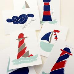 Sammlung Maritim Grusskarten