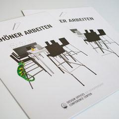 Portfolio Dorina Rundel - Grafikdesignerin: Design Offices - Infobroschüre Cover