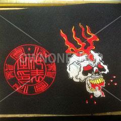 オリジナル 判子風 刺繍