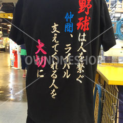 Tシャツ 刺繍 野球 名入れ