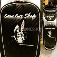 ゴルフバック 刺繍 オリジナル 名入れ