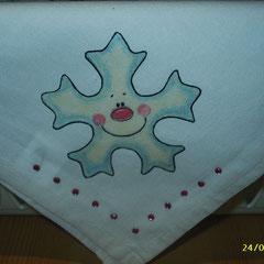 Halstuch mit Strasssteinen; Größe ca. 38 x 38 cm; reine Baumwolle; Euro 3,50