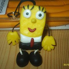 Sponge Bob als Anhänger für Schlüssel, Schultaschen etc. 6,00 Euro