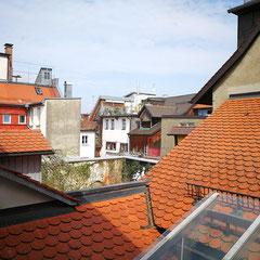 Ausblick Hinterhof