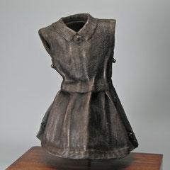 Vicksburg Dress, cast aluminum.  Private Collection