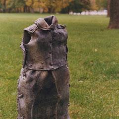 Dress, cast aluminum.  Private Collection