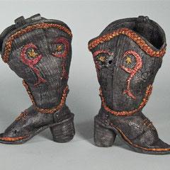 Longhorn Boots, inside view