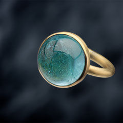 Ring, 750/- GG, Topas, Foto: Robert Willen
