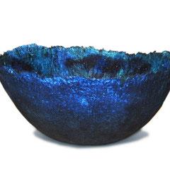 Schale - Papier blau