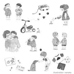 2018 大和書房「佐々木正美の子育て百貨」カバー/挿絵