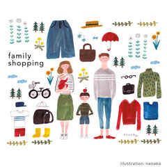 2017 Famiry shopping オリジナル