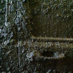 Schlamm Patina Detail Stubbe