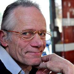 Walter Probst von Kultur für Alle am Stand in der Vesperkirche Nürtingen, Foto: Manuel Werner