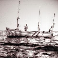 Anticosti, pêche à la morue