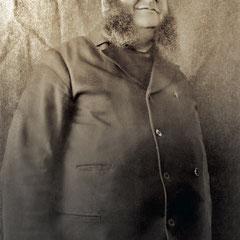 Alfred Malouin, gardien du phare de la pointe Ouest.