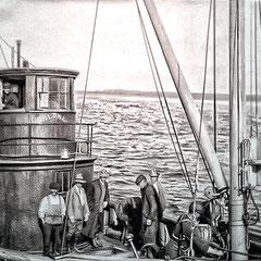 Petit vapeur de type «remorquer» construit pour les glaces. Acheté en 1901, sous la recommandation du capitaine Doggett de la Nouvelle-Écosse pour le transport du homard de la baie aux Renards. Son patron était le capitaine Innès. Équipage de 4 personnes.
