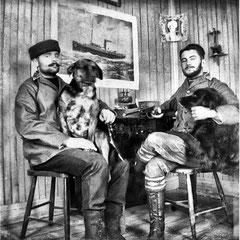 Émile Nadeau, sellier de métier et Lorenzo Malouin, télégraphiste