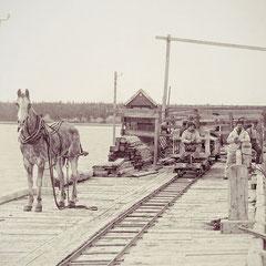 Quai de la baie Ellis, 1900