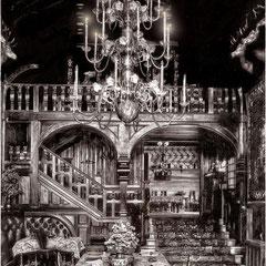 Villa Menier, hall et salle à manger