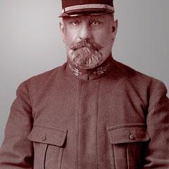 George-Martin Zédé (1864-1951) chargé de pouvoir d'Henri Menier, puis plus tard de Gaston pour tout ce qui concernait Anticosti sous l'ère de son existance.