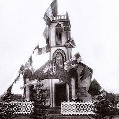 Église de Baie Ste-Claire pavillonnée