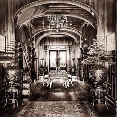 Villa Menier, le vestibule