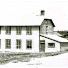 Baie Ste-Claire à l'abandon, 1930. Le presbytère