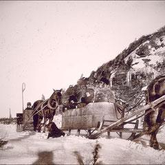 Les Malouin et compagnie en promenade à la Pointe ouest d'Anticosti en 1900