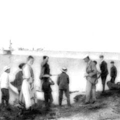 La jetée de la baie Ste-Claire - retour de la chasse aux canards