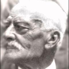 Lucien Comettant (1853-1925) à l'âge de 70 alors qu'il revint à Québec visiter ses filles Georgette et Renée après la guerre de 14-18