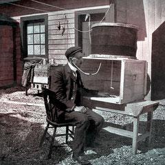 J.O Montreuil (n1874, St-Anne-de-la Pérade), ingénieur, Il assistait Adolphe Jacquemart. Il est le père de l'écrivaine québécoise Claire Martin (Montreuil) née en 1914. il avait marié en première noce Laura Malouin et en deuxième noce Alice Martin