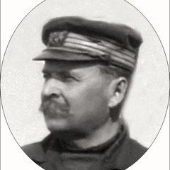 Jean-Baptiste Bélanger en 1905, capitaine du Savoy durant la période Menier. Il pilota aussi le «Eureka» qui en 1914 fut le premier à secourir l'«Empress of Ireland» dont les fêtes du centenaire auront lieu à Rimouski à la fin du mois de mai.