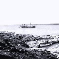 Le SS Savoy à la pointe sud-ouest