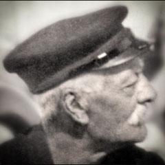 Lucien Comettant (1853-1925) en visite à Québec chez ses filles Georgette et Renée, après la guerre 14-18.