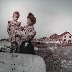 Une parisienne sur l'île Anticosti (1903), Thérèse Comettant (1879-1941) et Jeanne Comettant (1899-1983), filles de Lucien