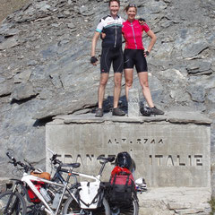 Radreise, Biketour, Passfahrt, Frankreich, Italien, Col dÁgnel