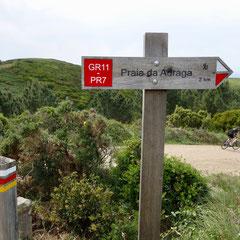 Radreise, MTB, Portugal, Küstenradweg, GR11, Sintra
