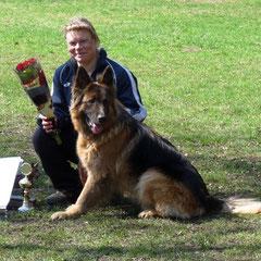 Sieg auf der ganzen Linie: Schutzhundpokal!