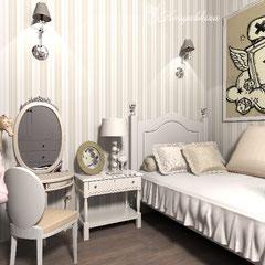 Дизайн комнаты для маленькой принцессы