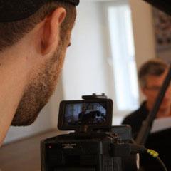 """Video-Aufnahmesession """"Wege zum Liedgesang - Ein deutscher Vaccai"""" Feldstraßenbunker Hamburg"""
