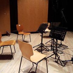 Der Vogelsang - CD-Aufnahme mit dem Kizuna-Quartett in der Friedrich-Ebert-Halle, Hamburg-Harburg - Februar 2018