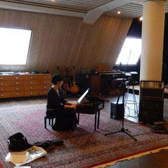 Acht Blicke auf Mondenschein - Vinyl-/CD-Aufnahme mit Jennifer Hymer im Clouds Hill Studio, Hamburg - 2015