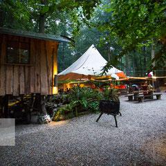 Hochzeitslocation im Outdoorzentrum Lahntal Kletterpark - by Roland Grosch - Hochzeitsfotograf Hanau