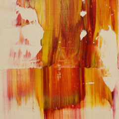 untitled - oil on canvas - 100 x 20 -  EUR 300