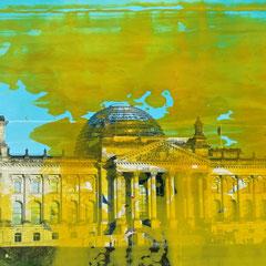 Berlin - Öl auf Fotopapier - 15 x 20 - EUR 270